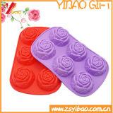 Forme de fleur de haute qualité en forme de cube de glace en silicone (YB-AB-020)