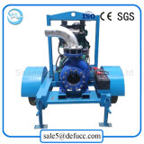 Установленный тренером водосливной насос двигателя дизеля всасывания конца