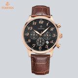 Cronógrafo Watch72512 del reloj del cuarzo de los hombres de la manera del acero inoxidable del deporte de la promoción