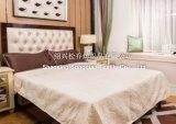 Láser de relieve 100% mantas de algodón / hoja de cama
