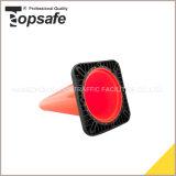черный низкопробный конус дороги PVC блокировки 18inch для сбывания (S-1237)