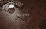 Black Brown Color Multiply Hickory Engineered Wood Flooring / Hardwood Flooring