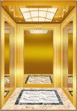 Ascenseur neuf d'or de passager de modèle d'acier inoxydable de miroir
