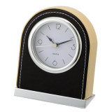 Especiais Hotel Wooden Black Table Clock