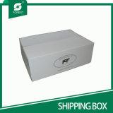 Коробка Rsc изготовленный на заказ логоса белая складная Corrugated для перевозкы груза