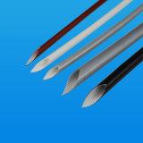Vlechtte de silicone Geverniste Glasvezel de Elektrische Kokers van de Isolatie