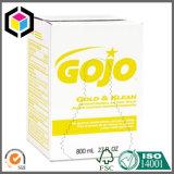 Caixa de empacotamento de papel da medicina Refillable feita sob encomenda do distribuidor da cor
