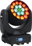 colada principal móvil del zoom LED de 19X10W RGBW 4in1