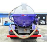 Тележка 10000 l тележка вакуума в 6 метров колес 10 кубическая всасывания нечистоты