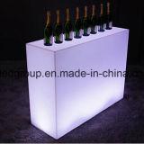 16colors LED 판매를 위한 똑바른 바 카운터 플라스틱 현대 가구
