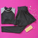 Подгонянный плотно Sportswear йоги тренировки солнцецвета Tracksuit гимнастики гетры