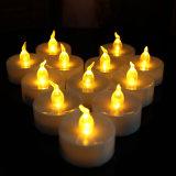 Cor do diodo emissor de luz que muda a vela do agregado familiar de Tealights