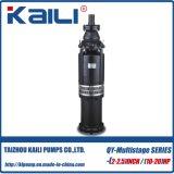 pompa di miniera (a più stadi) sommergibile Oil-Filled della pompa delle acque pulite della pompa di 4tage QY