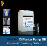 Pétrole de pompe de diffusion de silicones égal à DC704, aucun problème de cristallisation
