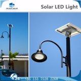 12h Panneau monobloc Batterie entièrement scellée Lumière de jardin LED décoratif solaire