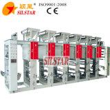 Stampatrice di plastica di colore di rotocalco quattro