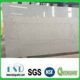 Piedra dirigida blanca del cuarzo de Carrara para el material de construcción