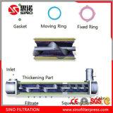 De Machine van de Pers van de Filter van de Schroef van het roestvrij staal voor de Modder van de Olie en van het Vet
