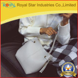 Sac d'épaule en cuir d'unité centrale de femmes de sac de position de cordon de sac à main de dames avec la pochette mince
