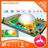 Großes im Freienspiel-Geräten-Vergnügungspark-Plastikschauspielhaus