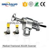 Js1105 Scanner van Galvo van de Laser van Co2 de Verwaarloosbare met het Stuk van de Hand voor de Machine van de Huid