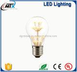 Birne des MTX 3W E27 220V dekorative Weinleseedison-Glühlampe-GlasdiamantWeihnachtsbaum-Stern-LED