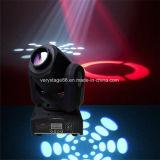 LED 10Wの白いクリー族の移動ヘッド点LED DJの照明