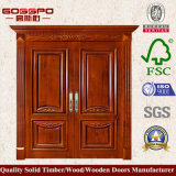 Американская дверь качания переднего входа двойника типа (GSP1-026)