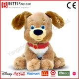 赤ん坊のための美しい詰められたおもちゃ動物犬