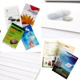 (RPD-100) dobro de papel mineral rico de papel de pedra a favor do meio ambiente revestido