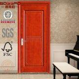 ヒンジの振動クルミの振動木のドア(GSP8-025)