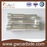 Fodera/ugello dello spruzzo del carburo con il rivestimento ed i filetti d'acciaio e di alluminio