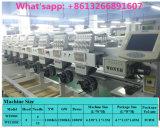8 Kopf computergesteuerte Schutzkappen-Stickerei-Maschinen-flaches Bett-Stickerei-Maschine für Baumwoll-/Strickjacke-Polyester-Gewebe-Stickerei