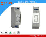 DINの柵の制御線シグナルUc24のサージ・プロテクターを使って