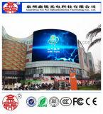 Visualizzazione di LED esterna di colore completo P10 di alta qualità HD di RGB per fare pubblicità