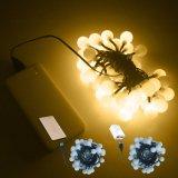 Luz conveniente los 5m 50LEDs de la cadena de la bola del USB para la decoración de la Navidad