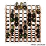 Estantes caseros creativos del sostenedor de botella de vino de la barra del sostenedor de madera del vino