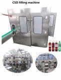 Schlüsselfertige gekohlte Getränkegetränk-Flaschen-Füllmaschine-Maschinen-kompletten Produktionszweig beenden