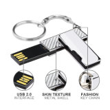 Mini USB Flash Ultrathin de Metal com Hi-Speed ​​Flash Waterproof