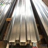 Strato galvanizzato di Decking del pavimento usato per la struttura d'acciaio