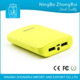 2016 nuevos productos se doblan interdicción material de la potencia de batería del Li-ion 5200mAh del ABS del cargador del USB