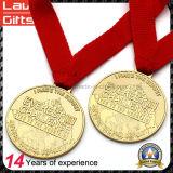 2017 neueste kundenspezifische glänzende Ende-olympisches Goldmedaillen für Verkauf