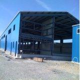 Almacén modular de la estructura de acero para Rumania