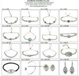 女性ギフト925の銀製のイヤリング(E6456)のための最上質の方法宝石類