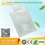 Luz de rua solar do diodo emissor de luz do brilho super para o sistema de iluminação ao ar livre