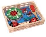 De houten Reeks van het Instrument van het Stuk speelgoed van de Gitaar Muzikale