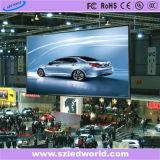 P3, fábrica de fundición a presión a troquel a todo color de alquiler de interior de la pantalla de la tablilla de anuncios de LED P6 para hacer publicidad