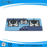 Cocina de gas incorporada 3burner Withce