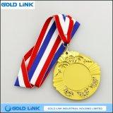 Métier en métal de cadeau de souvenir de médaille d'armée de récompense de médaille de sports