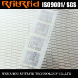 布管理のためのUHFによってカスタマイズされる防水色刷RFIDの札
